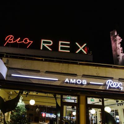 Amos Rex kuvattuna marraskuussa.