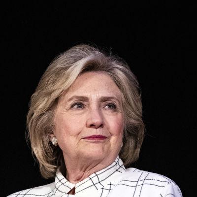 Yhdysvaltain entinen ulkoministeri ja demokraattien presidenttiehdokas Hillary Clinton marraskuussa 2019.
