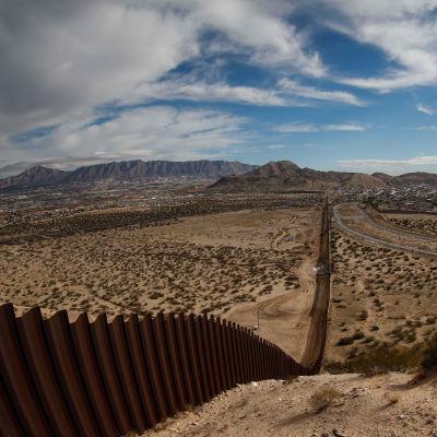 USA:s och Mexikos gräns.