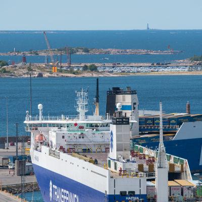 Västra hamnen i Hangö