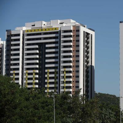 Rion olympiakylä Australian ja Saksan talo