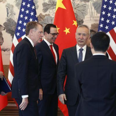 Förhandlare i USA-Kina-möte