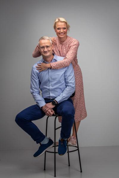 Jarno Limnéll ja Maaret Kallio.