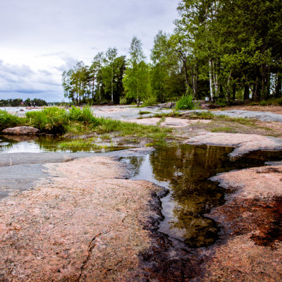 Haukilahden ranta Espoossa.