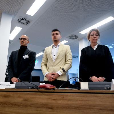 Rättegång i Dresden.