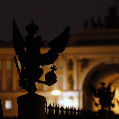 Earth Hour i S:t Petersburg