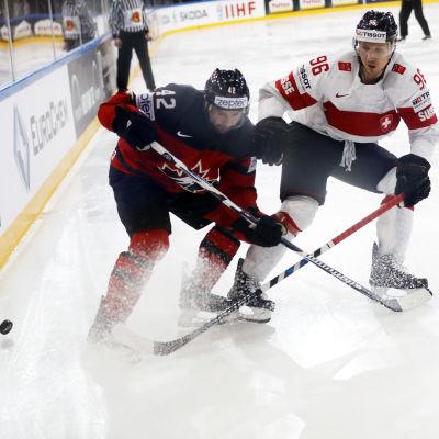 Kanadas Chris Lee och Schweiz Damien Brunner är två spelare som kan ställa upp i OS.