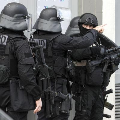 Fransk RAID-specialstyrka.