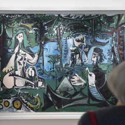 Le déjeuner sur l'herbe (d'après Edouard Manet) av Pablo Picasso.
