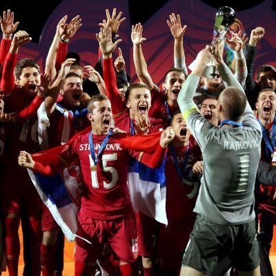 Serbien fick fira VM-guld