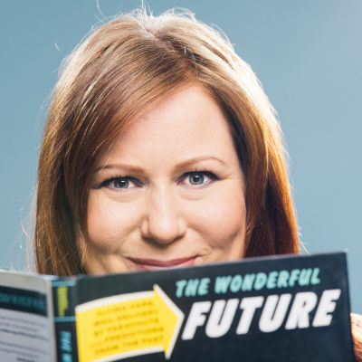tulevaisuudentutkija Elina Hiltunen