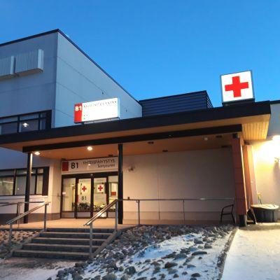 Keskussairaalan yhteispäivystys Kokkolassa.