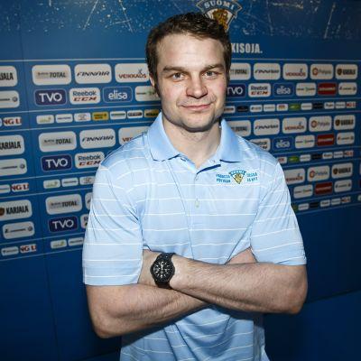 Janne Pesonen i landslaget