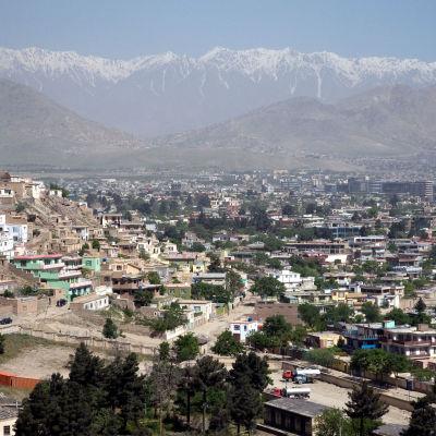 Vy över Kabul.