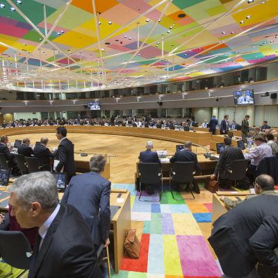 EU:s försvarsministrar sammanträder i maj 2017.