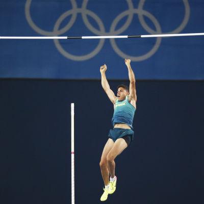 Thiago Braz Da Silva tar OS-guld i Rio.