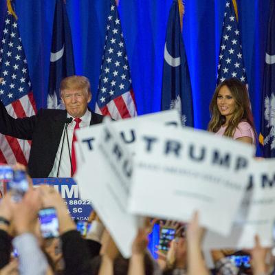 Donald Trump vann i South Carolina