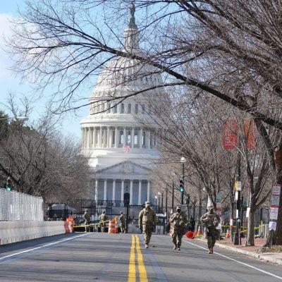 Polisen i Kapitolium varnar för en ny möjlig attack den 4 mars och har därför trappat upp säkerheten.