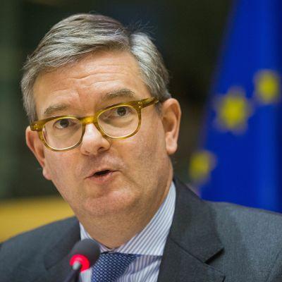 Julian King, EU:s kommissionär med ansvar för säkerhetsfrågor.