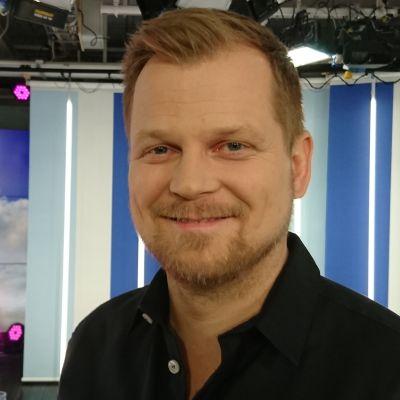 Antti Luusuaniemi Puoli seitsemän -ohjelman vieraana