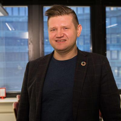 Mikko Koskinen / SDP / poliittisen valnistelun päällikkö / Hakaniemi 03.12.2018