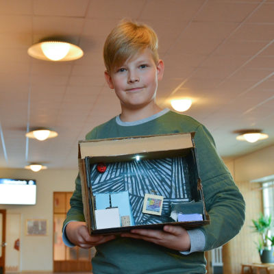 Eleverna i Malms skola deltar i Lux Archipelago.