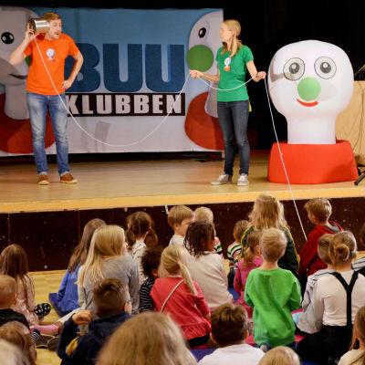 BUU-klubbens turné i Svenskfinland är i full gång.