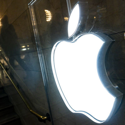 Apple Inc. logo.