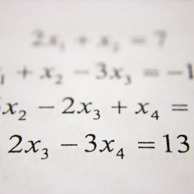 Matematik.