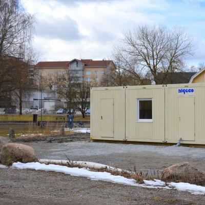 Pargas veterinärmottagning på Urlundsvägen.
