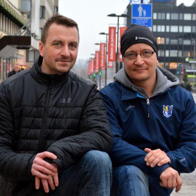 Petri Lehtonen ja Antti Laakso.