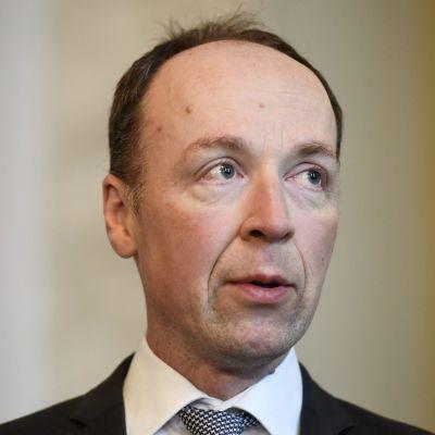 Sannfinländarnas ordförande Jussi Halla-aho.