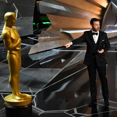 Jimmy Kimmel på Oscarsgalan.