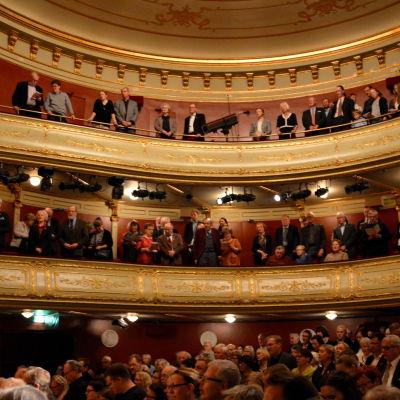 Svenska dagen firades på Åbo svenska teater.