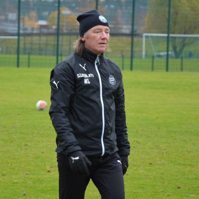 Mika Laurikainen, TPS träningar, 25.10.2016
