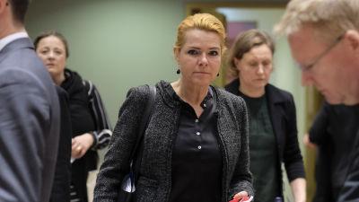 Danmarks före detta migrationsminister Inger Støjberg.