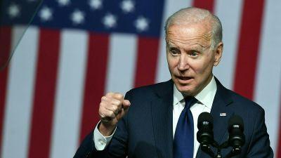 USA:s president Joe Biden talade i Tulsa, Oklahoma, den 1 juni.