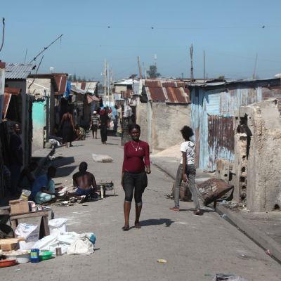 Cité Soleil är ett av Haitis fattigaste områden och har kallats världens farligaste plats av FN.