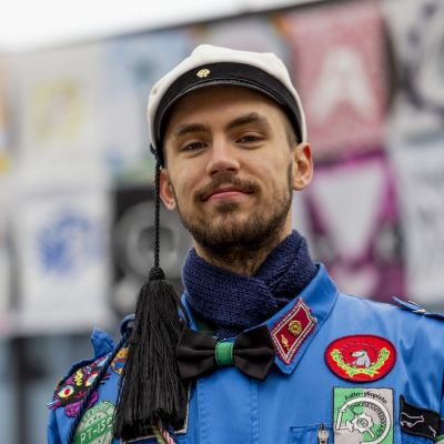 Aalto-yliopiston opiskelija Rudolf Nikander.