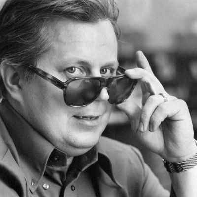 Komikern och skådespelaren Simo Salminen 1969.