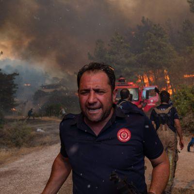 Maastopalot jatkuvat Turkissa