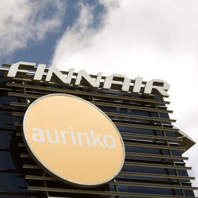 Aurinkomatkojen ja Finnairin pääkonttori Vantaalla.