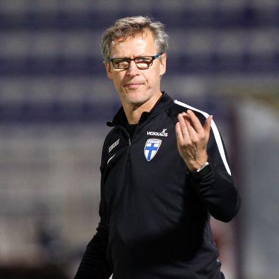Markku Kanerva, chefstränare för Finlands fotbollslandslag