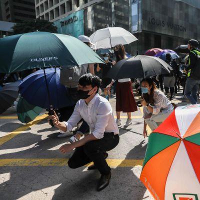 Demonstrationer i Hongkong
