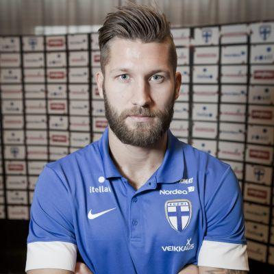 Joona Toivio har spelat i Finlands bägge EM-kvalmatcher under hösten.