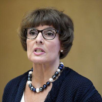Kommunikationsminister Anne Berner
