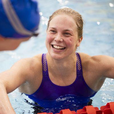 Fanny Teijonsalo Kuopion SM-uinneissa 18. kesäkuuta 2021