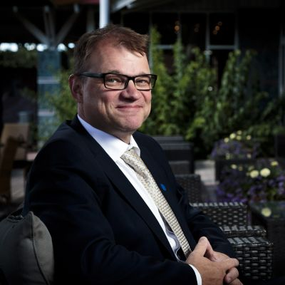 Juha Sipilä intervjuas av FNB i Nådendal 11.08.2017.
