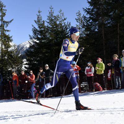 Iivo Niskanen tävlar på 15 kilometer i VM i Seefeld.