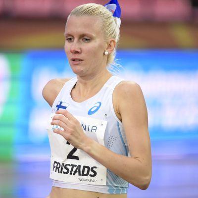 Sandra Eriksson löper i Sverigekampen